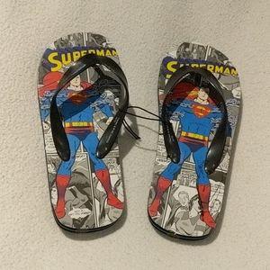 DC Superman flipflops size  2/3